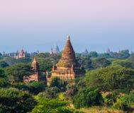 De pagode van Bagan, Myanmar Stock Fotografie