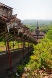 De pagode van Chaungzon, Bilu Eiland, Myanmar Stock Foto