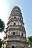 De pagode van de tijgerheuvel Stock Foto's