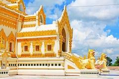 De Pagode van het de Tandoverblijfsel van Boedha, Yangon, Myanmar Royalty-vrije Stock Afbeelding