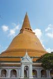 De pagode van Phrapathom Stock Foto