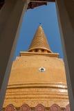 De pagode van Phrapathom Stock Afbeelding