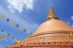 De Pagode van Prapathom Royalty-vrije Stock Afbeelding