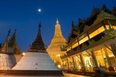 De Pagode van Shwedagon, Myanmar Stock Afbeelding