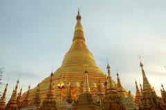De pagode van Shwedagon in Yagon, Myanmar Royalty-vrije Stock Fotografie