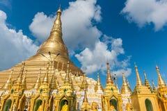 De Pagode van Shwedagon in Yangon Stock Foto