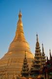 De pagode van Shwedagon, Yangon, Myanmar Stock Foto