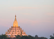 De Pagode van Swal Daw in Yangon Stock Foto's
