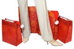 De pakketten van de gift Stock Foto's