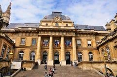 de palais Sprawiedliwość Paris Fotografia Royalty Free