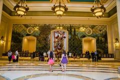 De Palazzo-Hotelhal Royalty-vrije Stock Afbeeldingen