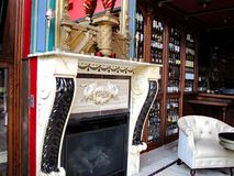 De Paleisbar, het Zout & het Whiskyrestaurant royalty-vrije stock afbeelding