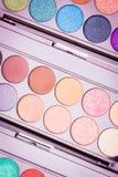 De paletten van de make-upoogschaduw Royalty-vrije Stock Afbeelding