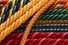 De pallen van het de kabelgordijn van de close-up Stock Afbeelding
