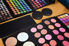 De Pallet van de make-up Stock Afbeeldingen