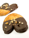 De palm van de chocolade Royalty-vrije Stock Foto