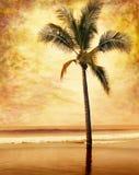 De Palm van Grunge Stock Afbeelding