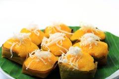 De palmcake van de suiker met kokosnoot Stock Fotografie