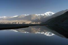 De Pamir bergen stock foto