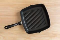De pan van de stok niet grill royalty-vrije stock afbeeldingen