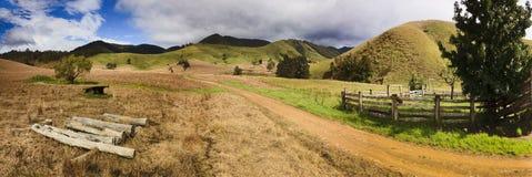 De Pan van de Weg van de Vallei van Bbtop stock foto's