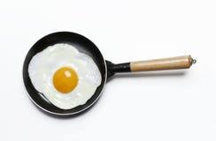 De pan van het ei. Stock Afbeelding