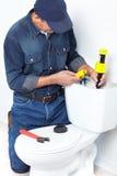 De pan van het toilet Royalty-vrije Stock Fotografie
