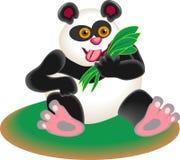 De panda draagt stock illustratie