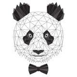 De panda draagt portret royalty-vrije illustratie