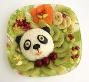 De panda wordt gemaakt van rijst Royalty-vrije Stock Foto's