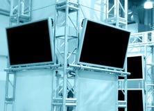 De panelen van het plasma Stock Foto's