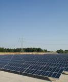 De panelen van Photovoltaiv Royalty-vrije Stock Afbeeldingen