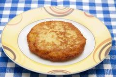 De pannekoek van de aardappel Stock Afbeelding