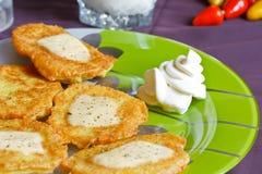 De pannekoeken van de aardappel Royalty-vrije Stock Afbeelding