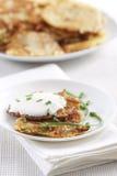 De pannekoeken van de aardappel Royalty-vrije Stock Afbeeldingen