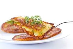 De pannekoeken van de aardappel Royalty-vrije Stock Fotografie