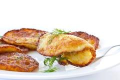 De pannekoeken van de aardappel Stock Afbeelding