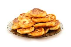 De pannekoeken van de kaas Royalty-vrije Stock Fotografie