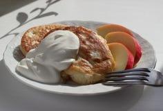 Smakelijk ontbijt Royalty-vrije Stock Foto's