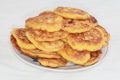 De pannekoeken van de pompoen. Royalty-vrije Stock Afbeelding