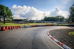 De panoramamening van het Zwitserse spoor van het kartkampioenschap wohlen binnen stock afbeeldingen