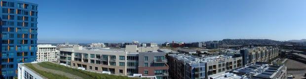 De Panoramische Foto van de Baai van de opdracht Royalty-vrije Stock Afbeeldingen