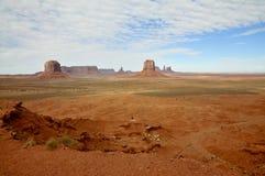 De panoramische Vlaktes van de Monumentenvallei Royalty-vrije Stock Afbeeldingen