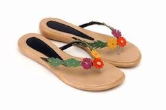 De pantoffel van de vrouw Royalty-vrije Stock Foto