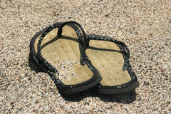 De pantoffels van de zomer Stock Afbeeldingen