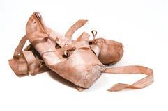 De Pantoffels van het ballet Stock Fotografie