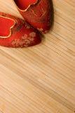 De Pantoffels van Tatami Stock Foto's