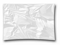 De papel amarrotado ceated como ilustrações Fotos de Stock