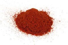 De paprika van de grond, peper Stock Foto