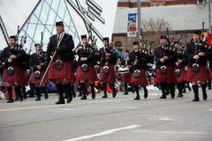 De parade 2008 van de Kerstman Stock Foto